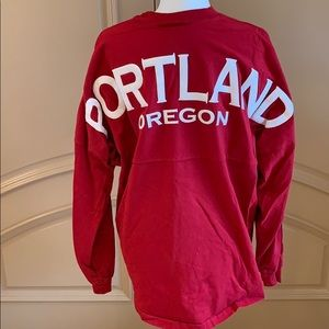 Red Portland Oregon Spirit Jersey Large